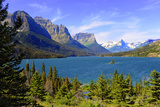 St. Mary Lake, Glacier National Park, Montana Photographic Print by Dennis Macdonald
