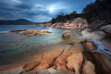 Storm Clouds and Tranquil Bay Photographic Print by Steve Daggar Photography