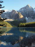 Moraine Lake in Banff National Park Photographic Print by Vienna mornings