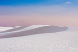White Sand Dunes Photographic Print by by Sathish Jothikumar
