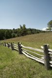 Split Rail Fence, Blue Ridge Parkway, Virginia Photographic Print by Cameron Davidson