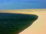 Lencois Maranhenses National Park, Brazil Photographic Print by  fbigsilva