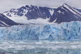 Glacial Ice in Spitsbergen, Svalbard Photographic Print by Anna Henly