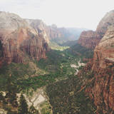 Angels Landing View Photographic Print by Kevin Russ