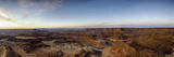 Panoramic View of Canyon and River at Sunrise Photographic Print by Bob Stefko