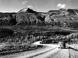 Alaska Highway Photographic Print by  Evans