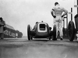 Pit Stop Photographic Print by E. F. Corcoran