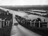 Car Hill Climb Photographic Print by Hulton Archive