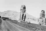 Colossi of Memnon Photographic Print by Pictorial Parade