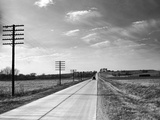 US Route 40 Photographic Print by George Enell