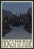 Hogsmeade Retro Travel Print