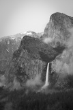 Scenic Image of Bridalveil Falls. Yosemite National Park. Photographic Print by Justin Bailie