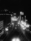 Fast times Square Photographic Print by Edwin Levick