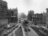 Manhattan Traffic Photographic Print by Edwin Levick