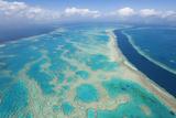 Great Barrier Reef, Queensland, Australia Fotografisk tryk af Peter Adams
