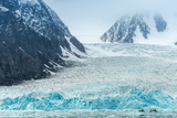 Heavy Ice near the Glacier Photographic Print by Duane Miller