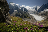 Glacier Du Tacul Photographic Print by  BenC
