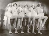 Chorus Girls Photographic Print by  FPG
