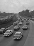 A Busy Highway Photographic Print by R. Gates