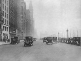 North along Michigan Avenue Photographic Print by  FPG