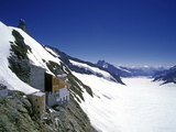 Jungfraujoch, Aletsch Glacier, Switzerland Photographic Print by Hans-Peter Merten