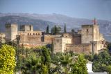 Alhambra Fotografisk tryk af silvana magnaghi