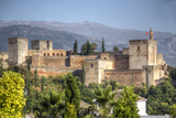 Alhambra Photographic Print by silvana magnaghi