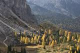 Sendero de la montaña Lámina fotográfica por Werner Van Steen