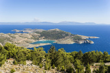 Panoramic View over Panormitis Bay Photographic Print by  Maremagnum