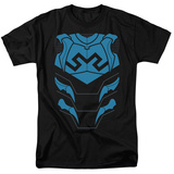 Justice League - Blue Beetle Costume Tee T-shirts