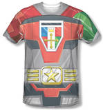 Voltron - Costume Tee T-shirts