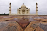 The Taj Mahal after Monsoon Rain Photographic Print by Jeremy Woodhouse