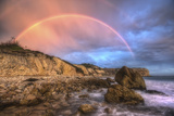 Rocks and Rainbows Photographic Print by Neil Kremer