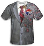 The Dark Knight - Two Face Costume Tee Vêtements