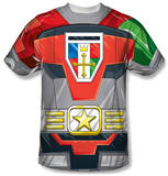 Voltron - Costume Tee Sublimated
