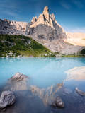 Turquoise Lake Photographic Print by Matteo Colombo
