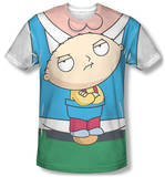 Family Guy - Stewie Carrier Costume Tee T-shirts