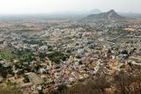 Tiruchengodu City View from Top of Hill Photographic Print by  AjinHari