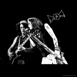 Aerosmith - Joe Perry & Steve Tyler (Black and White) Kunstdrucke von  Epic Rights