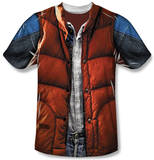 Youth: Back to the Future - Mcfly Vest T-shirts