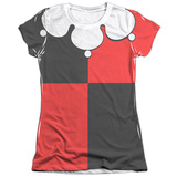 Juniors: Batman - Harley Quinn Costume Tee Shirt