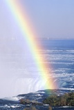 'Rainbow over Niagara Falls, New York' Photographic Print by VisionsofAmerica/Joe Sohm