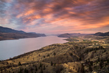Kamloops Lake at Sunset Photographic Print by Pierre Leclerc Photography