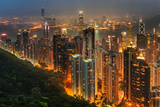 Hong Kong Population Photographic Print by  simonlong