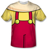 Family Guy - Stewie Griffin Costume Tee Sublimated