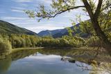 Tranquil Scene at Llesp Reservoir, Spain. Photographic Print by Ken Welsh