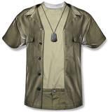 Youth: M.A.S.H. - Hawkeye Costume Tee T-shirts
