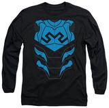 Long Sleeve: Justice League - Blue Beetle Costume Tee Vêtement
