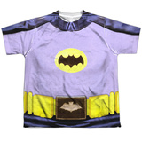 Youth: Batman Classic TV - Batman Costume Shirts