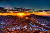 Uncompahgre at Sunrise Photographic Print by Photo by Matt Payne of Portland, Oregon
